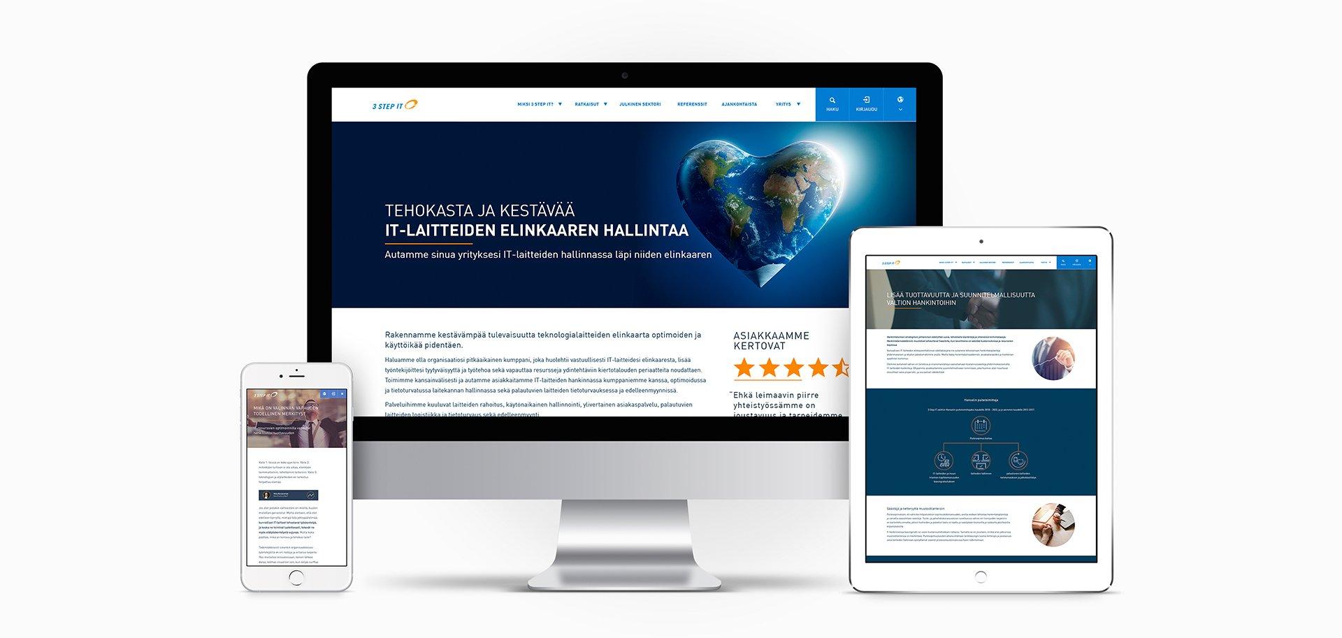 case 3 step it - webpages