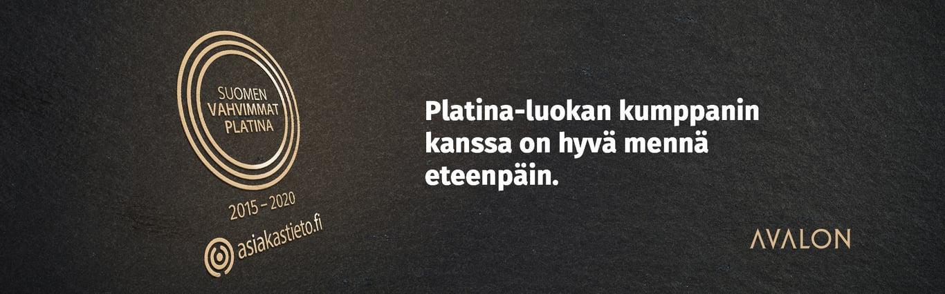 Avalon – Suomen Vahvimmat Platina 2020