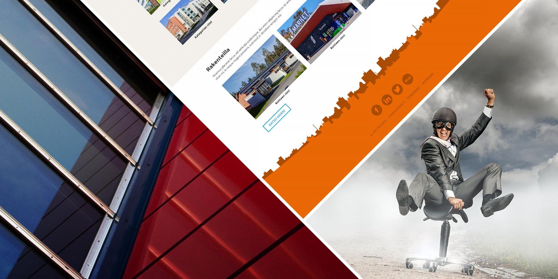 Avalon blogi – Rakennusalan moniottelijalle Temotekille brändi- ja sivustouudistus